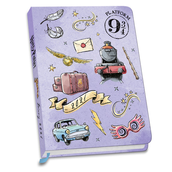 Harry Potter 2021 Fashion A6 Diary Front