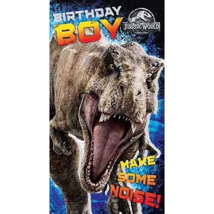 Jurassic World Birthday Boy Greeting Card