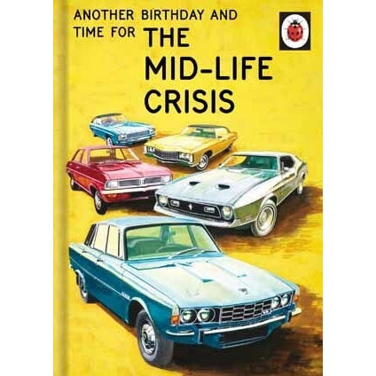 Ladybird Books For Grown-Ups Mid-Life Crisis Card