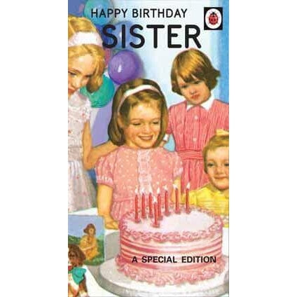 Ladybird Books For Grown-Ups Sister Birthday Card