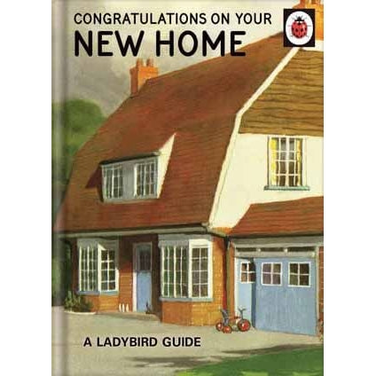 Ladybird Books For Grown-Ups   New Home Card