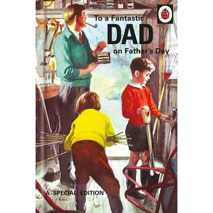 Ladybird Books For Grown-Ups Fantastic Dad Father's Day Card