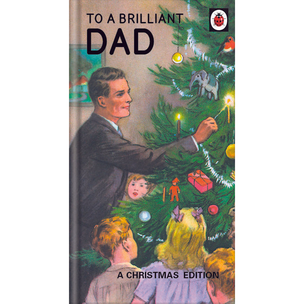 Ladybird Books For Grown Ups Brilliant Dad Christmas Card Front