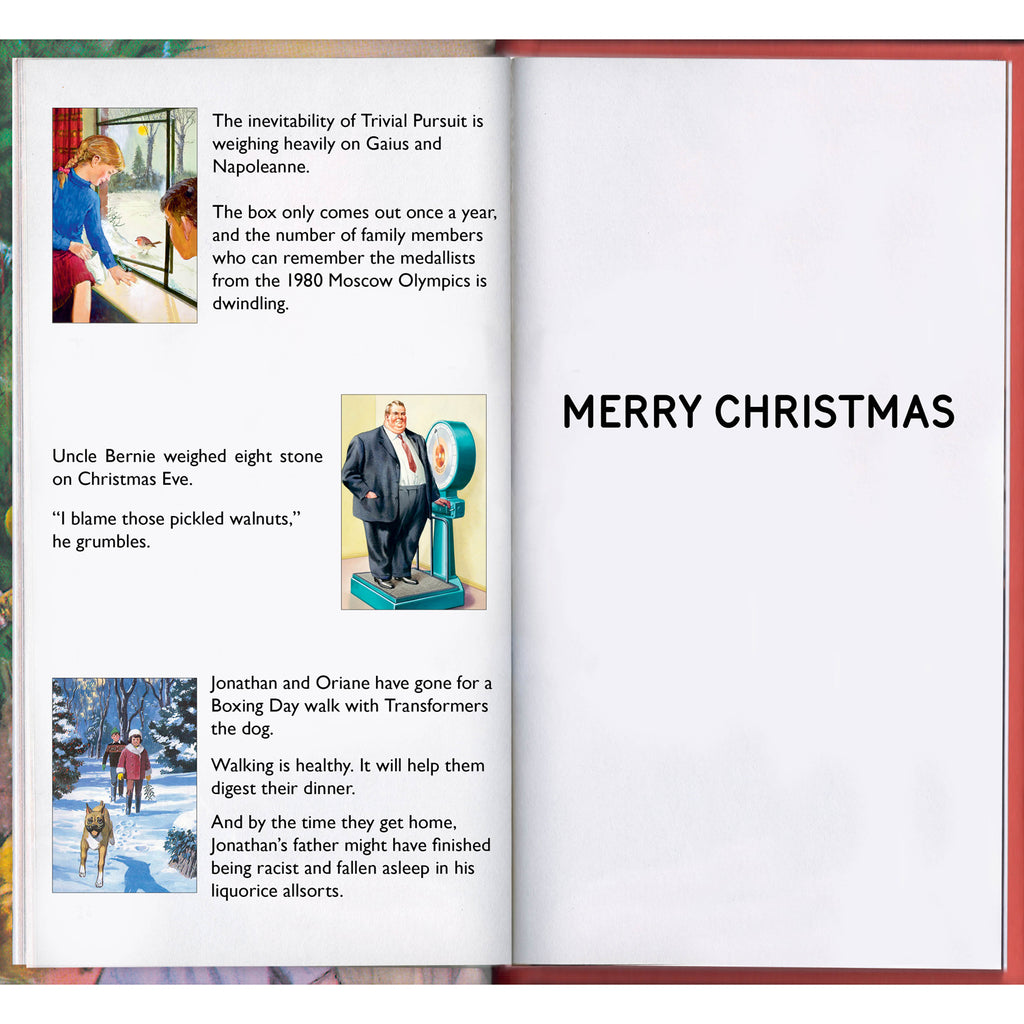 Ladybird Books For Grown Ups Brilliant Dad Christmas Card Inside