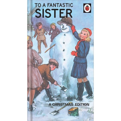 Ladybird Books Sister Christmas Card