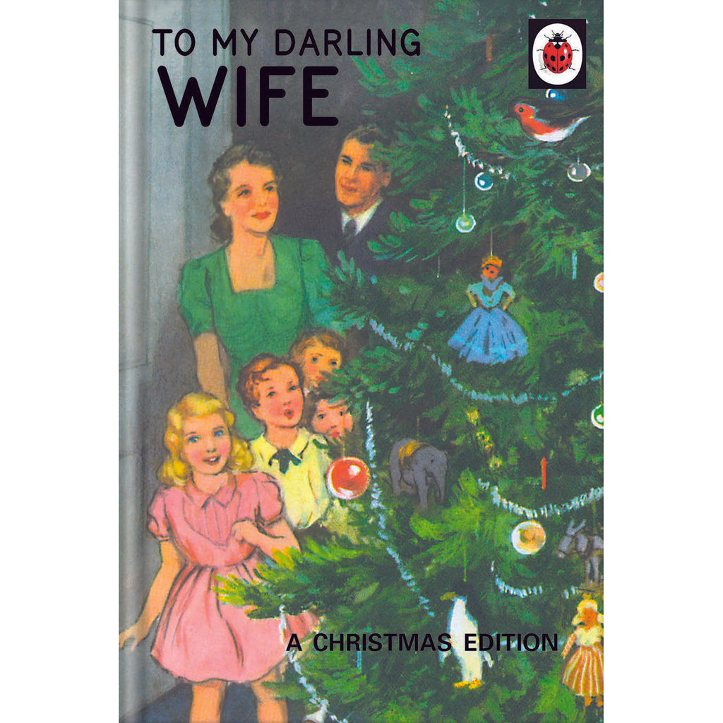 Ladybird Books Wife Christmas Card Front