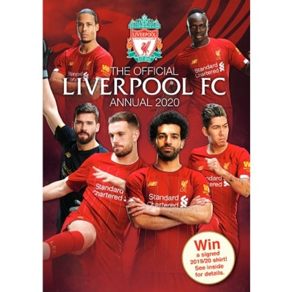 Liverpool Football Club Official 2020 Hardback Annual