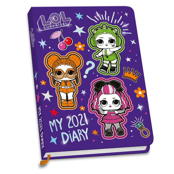 L.O.L. Surprise 2021 A6 Diary Front