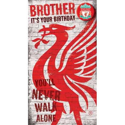 Liverpool Brother Birthday Card