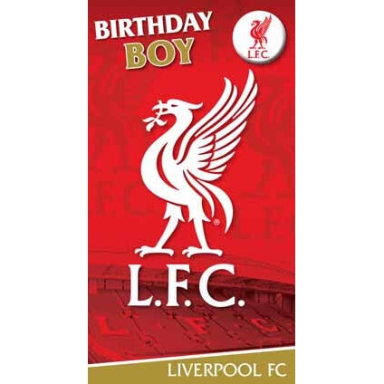 Liverpool Happy Birthday Boy Card