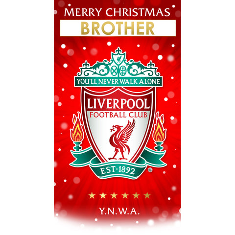 Liverpool FC Any Name Christmas Card