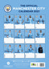 Manchester City FC 2021 A3 Wall Calendar Back
