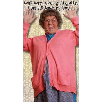 Mrs Brown's Boys Happy Birthday Card