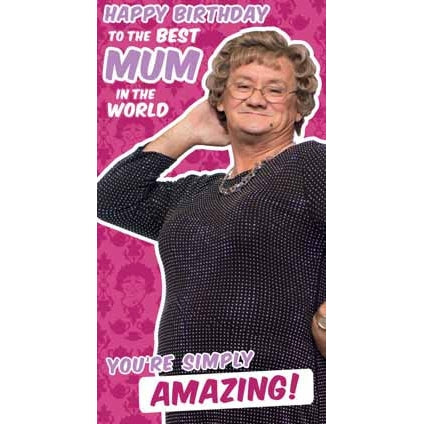 Mrs Brown's Boys Happy Birthday Mum Card