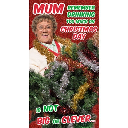 Mrs Brown's Boys Mum Christmas Card