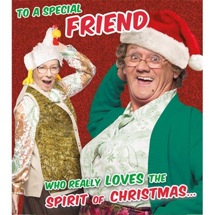 Mrs Brown's Boys Friend Christmas Card