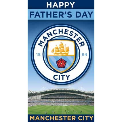 Manchester City Fathers Day Card