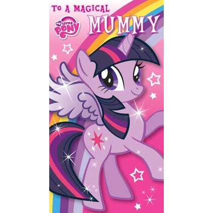 My Little Pony Mothers Day Card