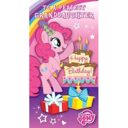 My Little Pony Granddaughter Birthday Card
