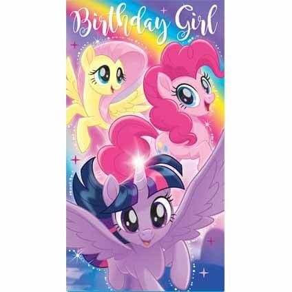 My Little Pony Movie Birthday Girl Birthday Card