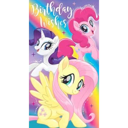 My Little Pony Movie General Birthday Card (with stickers)