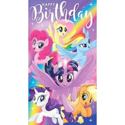 My Little Pony Movie General Birthday Card