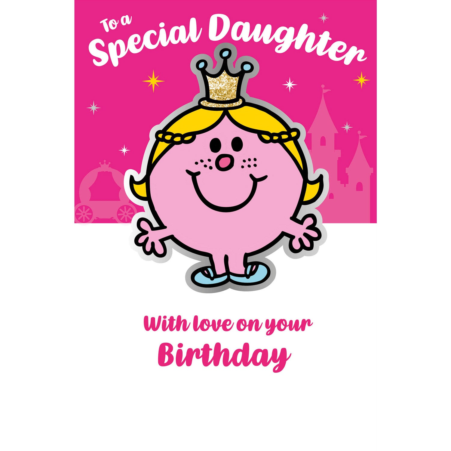 Mr. Men Little Miss Daughter Birthday Card