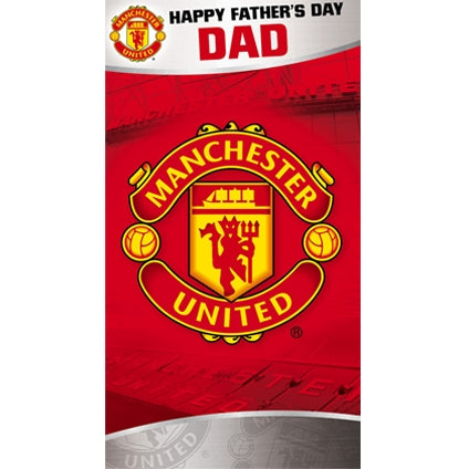 Manchester United Father's Day Card