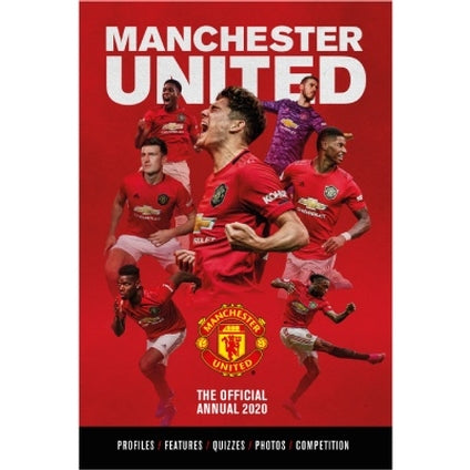 Manchester United Football Club Official 2020 Hardback Annual