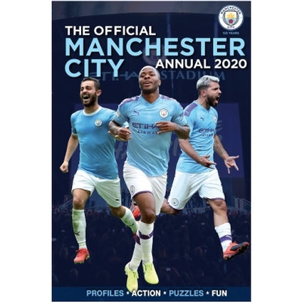 Manchester City Football Club Official 2020 Hardback Annual