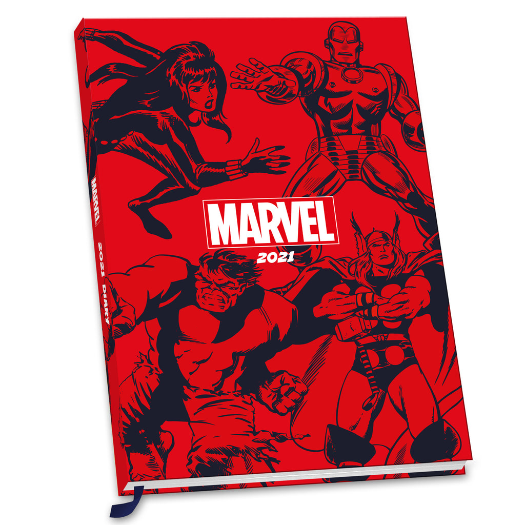 Marvel Comics 2021 A5 Diary Front