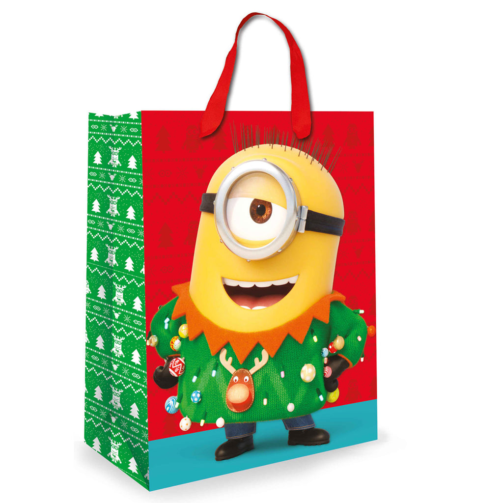 Minions Christmas Gift bag Side 2
