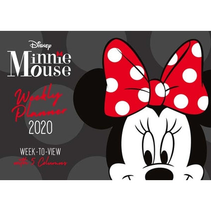 Minnie Mouse Weekly Planner 2020 Calendar