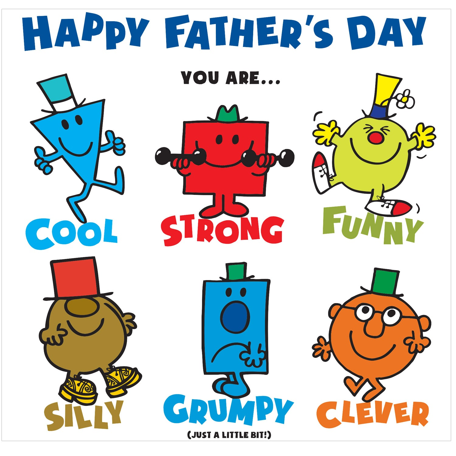 Buy Official Mr Men Father's Day Card | Danilo – Danilo Promotions