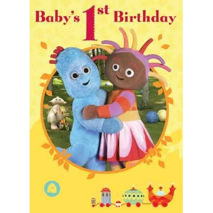 In The Night Garden Baby's 1st Birthday Card