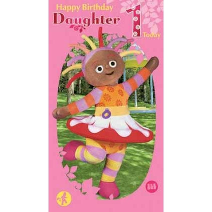 In The Night Garden Age 1 Daughter Birthday Card