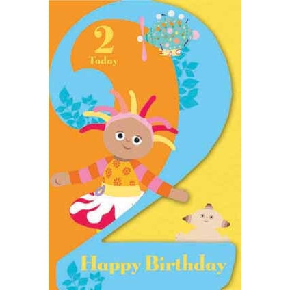 In The Night Garden Age 2 Today Birthday Greeting Card