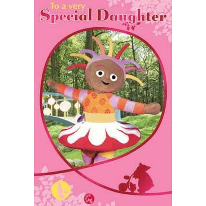 In The Night Garden Daughter Birthday Card