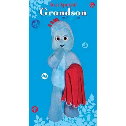 In The Night Garden Grandson Birthday Greeting Card