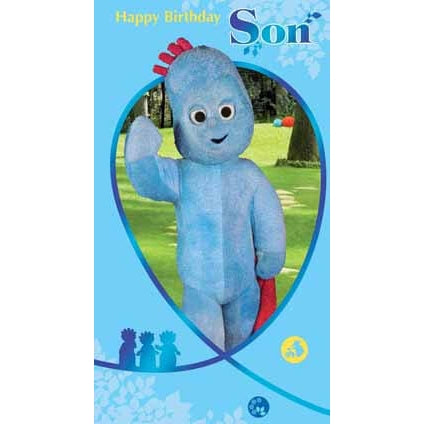 In The Night Garden Son Birthday Greeting Card