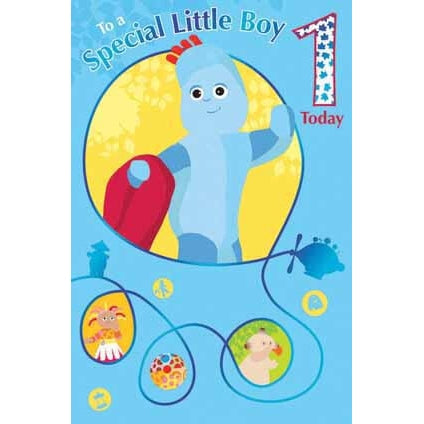 In The Night Garden Special Boy 1 Today Birthday Card