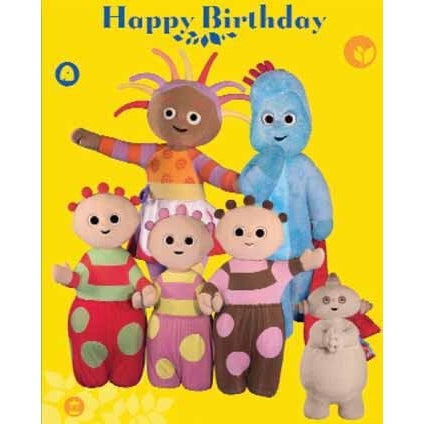 In The Night Garden Birthday Greeting Card