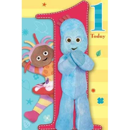 In The Night Garden Age 1 Birthday Greeting Card