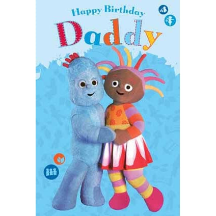 In The Night Garden Daddy Birthday Card