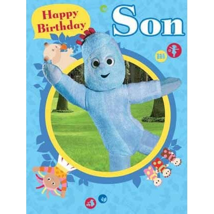 In The Night Garden Large Son Birthday Greeting Card