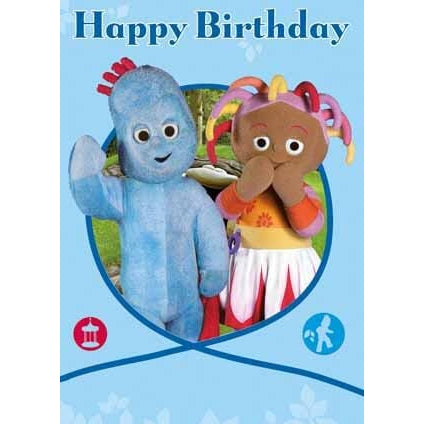 In The Night Garden General Birthday Greeting Card
