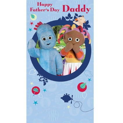 In the Night Garden Father's Day Daddy Card
