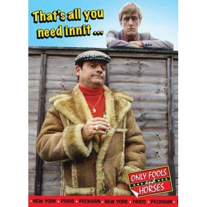 Only Fools and Horses Birthday Greeting Card