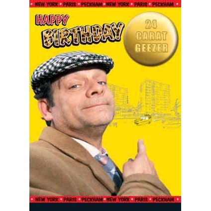 Only Fools and Horses Birthday Card