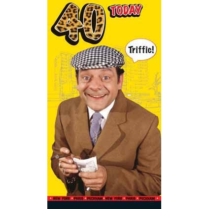 Only Fools and Horses Happy 40th Birthday Card